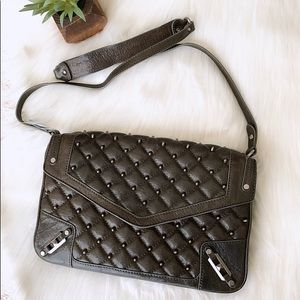 Rebecca Minkoff | Quilted Studded Crossbody Bag